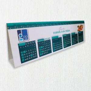 Impresión de calendarios para 2018