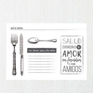 Individuales de papel para restaurantes en Medellín