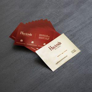 Impresión de tarjetas de presentación