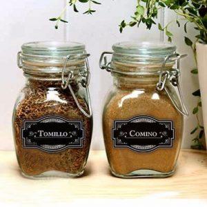 Etiquetas adhesivas para productos