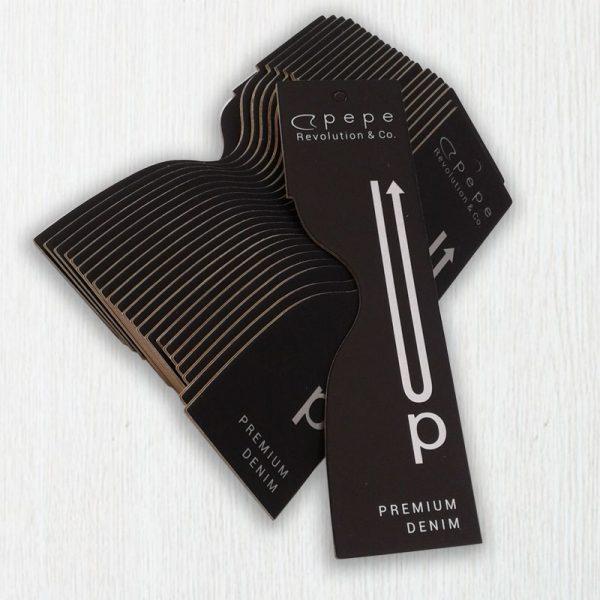 impresión de etiquetas de cartón para ropa