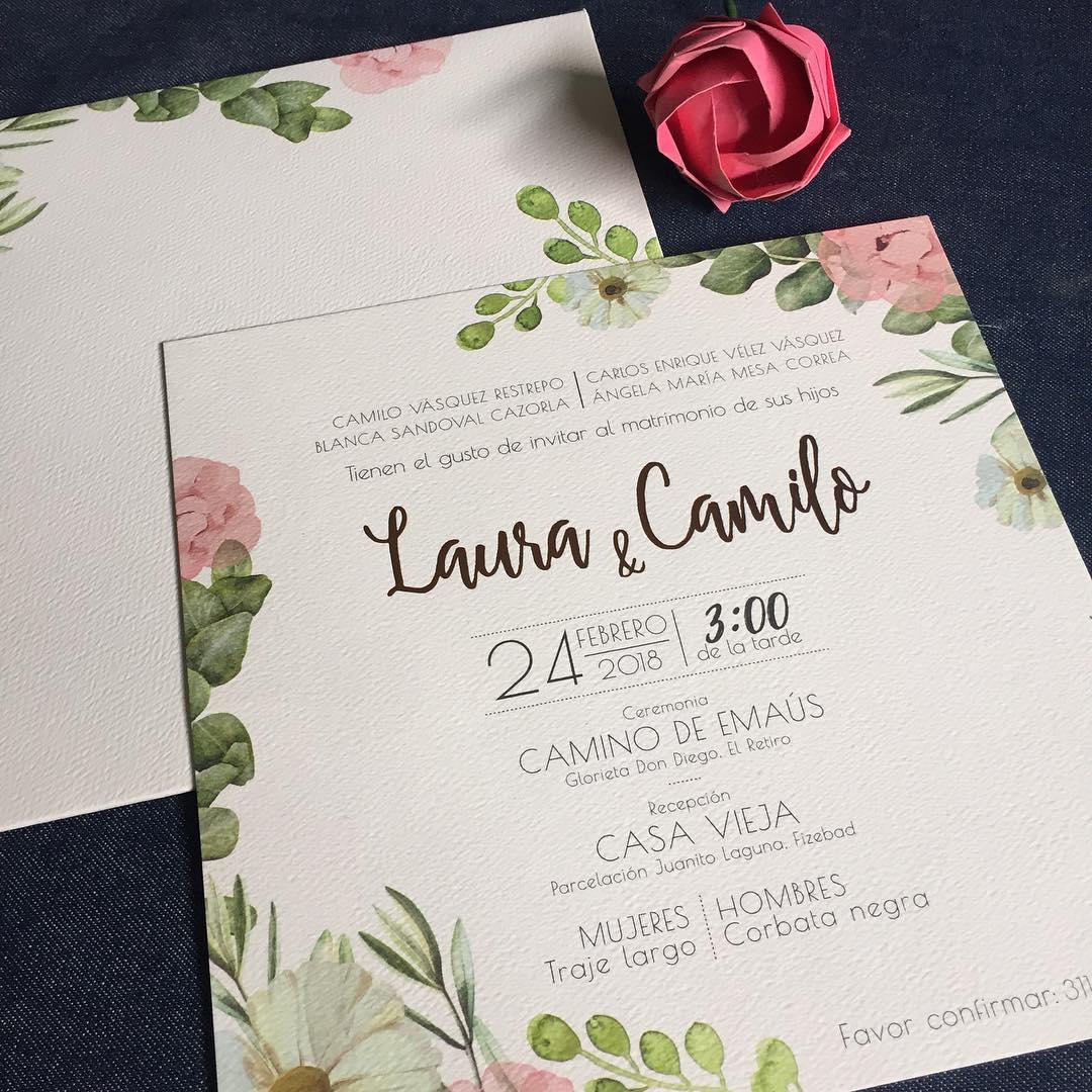 Tarjetas De Invitación Litografías En Medellín Imprestar
