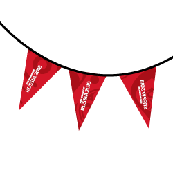 Banderines mundial de Rusia 2018