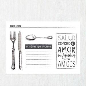 Individuales de papel para restaurantes