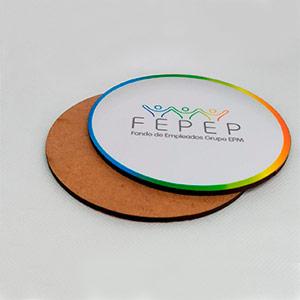 Portavasos personalizados en litografía en Medellín
